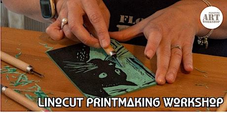 Linocut Printmaking Workshop tickets