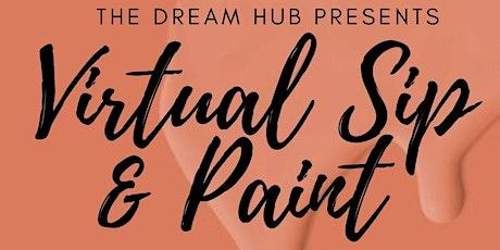 Virtual Sip & Paint Fundraiser tickets