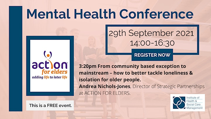 IHSCM Mental Health Conference image