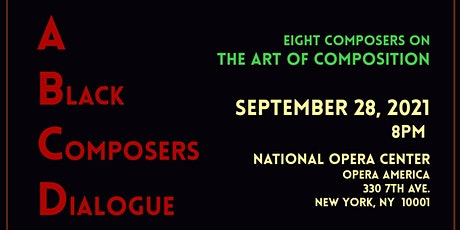 A Black Composers Dialogue tickets