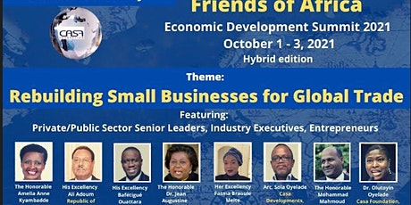 Friends of Africa Economic Summit  2021 (11th Edition) tickets