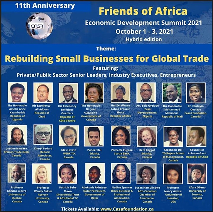 Friends of Africa Economic Summit  2021 (11th Edition) image
