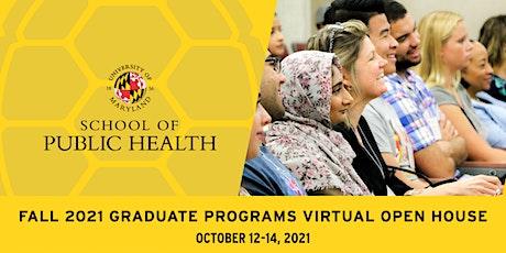 Fall 2021 Graduate Programs Virtual Open House tickets