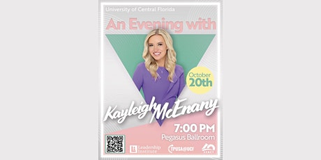 Kayleigh McEnany at UCF tickets
