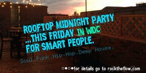 Rooftop Midnite Party For Music Lovas