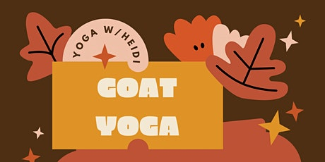 Kids Goat Yoga and Halloween Activities tickets