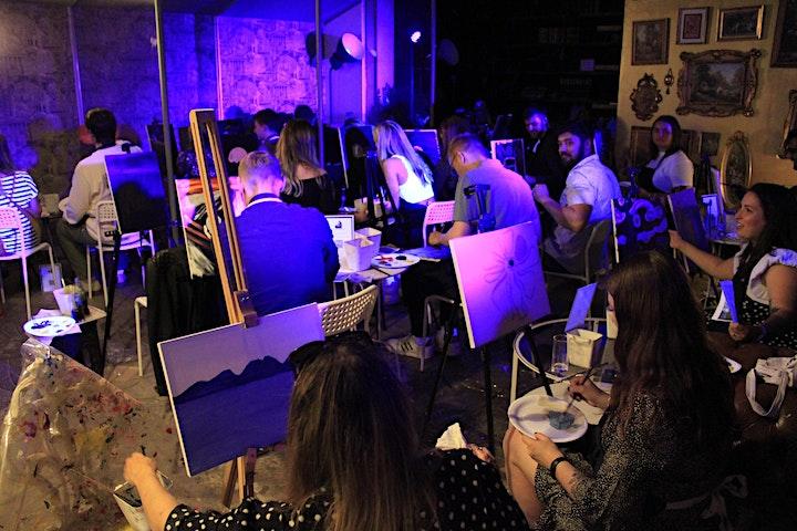HALLOWEEN UV Painting Workshop image