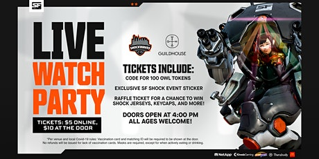 SF Shock Grand Finals Watch Party tickets