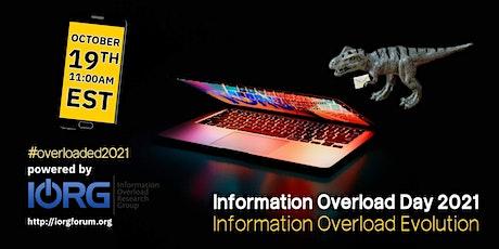Information Overload Day 2021 Webinar tickets