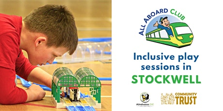 Inclusive train play sessions in Stockwell tickets