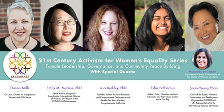 Female Leadership, Governance, and Community & Peace Building tickets