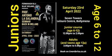 Antonio La Salandra, Ireland Junior Seminar 2022 tickets