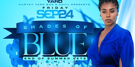 Shades of blue, goodbye summer welcome  tickets