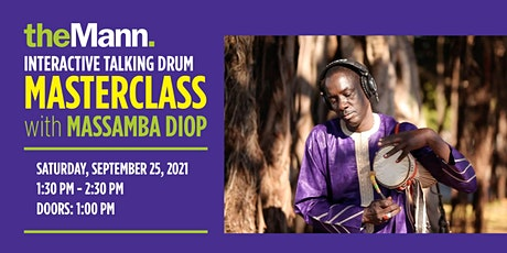Talking Drum Masterclass with Massamba Diop, soloist from The Black Panther tickets