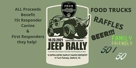 FRK9 JEEP RALLY tickets