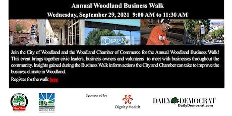 2021 Annual Woodland Business Walk tickets