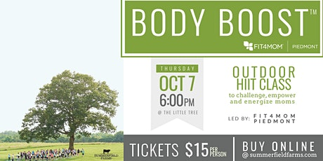 Body Boost with FIT4MOM tickets