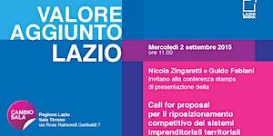 Call for proposal per il riposizionamento competitivo d...
