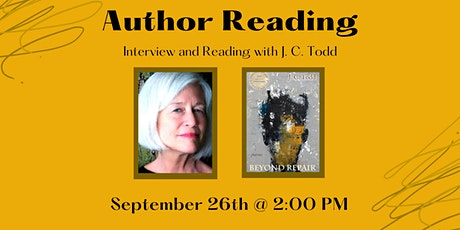 Virtual Poetry Reading: J. C. Todd and Beyond Repair tickets