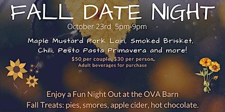 Fall Date Night at the OVA Barn tickets