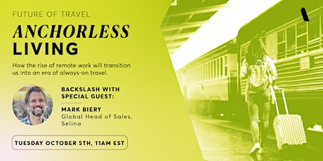 Backslash Presents: The Future of Travel - Anchorless Living tickets
