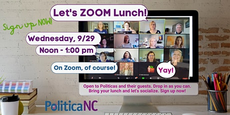 Zoom Lunch tickets