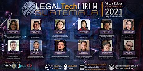 LEGALTECH FORUM GUATEMALA 2021 entradas
