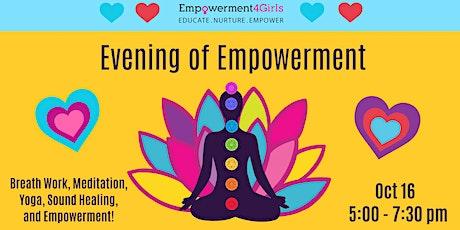 An Evening of Empowerment Fundraiser: Sound Healing and Self-Love tickets