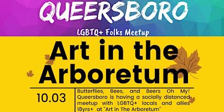 Queersboro Meet Up: Art in the Arboretum tickets