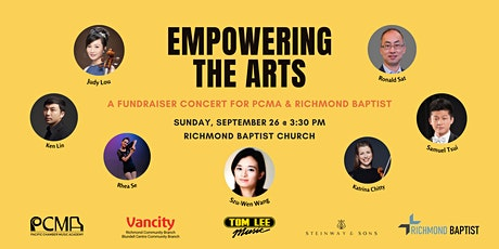 Empowering the Arts - A Fundraiser Concert for PCMA & Richmond Baptist tickets