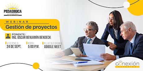 Webinar: Gestión de Proyectos tickets