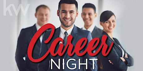 September 29th Virtual Career Night at Keller Williams tickets