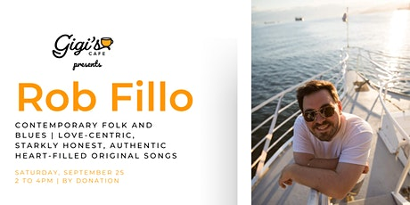 Rob Fillo: Contemporary folk and blues |  Heart-filled original songs tickets