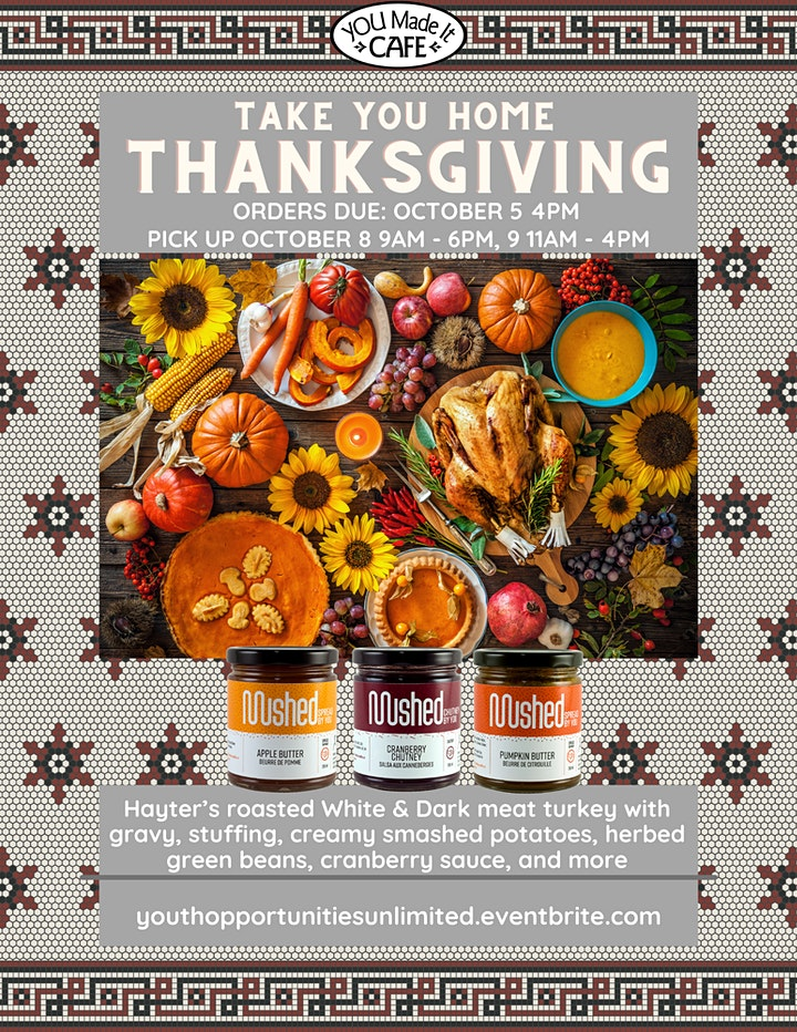 Thanksgiving with YOU image