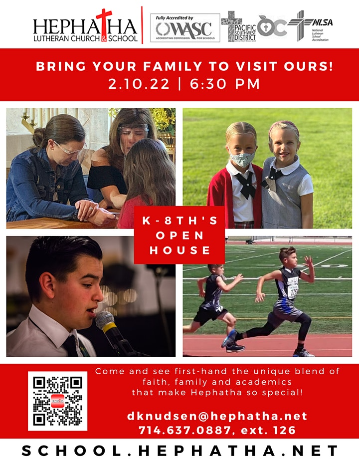 K-8th's Open House image