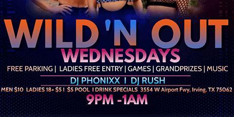Wild N Out Wednesdays tickets