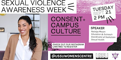 Consent and Campus Culture tickets
