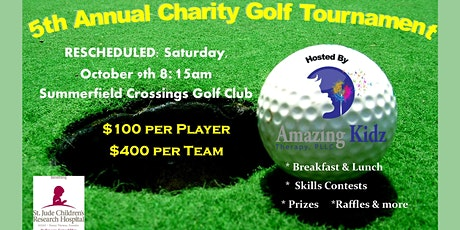 5th Annual Amazing Kidz Therapy Charity Golf Tournament tickets