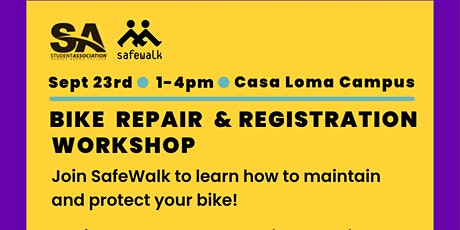 Bike Repair & Maintenance @ 2 pm tickets