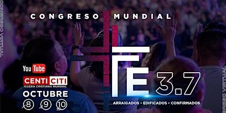 Congreso Mundial 2021 - FE 3.7 tickets