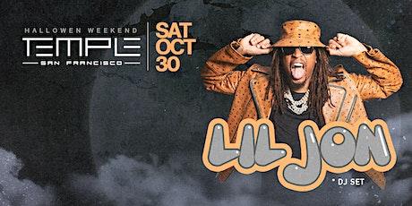 Lil Jon at Temple SF tickets