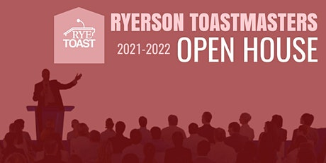 Ryerson Toastmasters Virtual Open House tickets