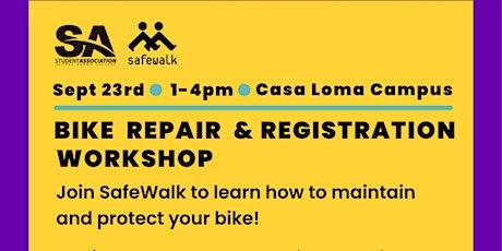 Bike Repair & Maintenance @ 4 pm tickets