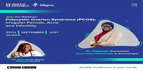 Polycystic Ovarian Syndrome;Irregular Periods, Acne and Infertility VIRTUAL tickets
