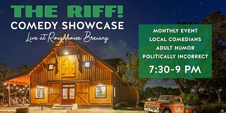 THE RIFF! @ Roughhouse Brewing. Outdoor Comedy Showcase 10/14/21 tickets