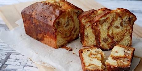 Mindful Baking -  Caramel Apple Loaf Cake tickets