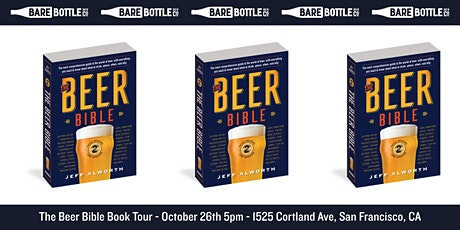 The Beer Bible: Second Edition Tour at Barebottle Brew Co tickets