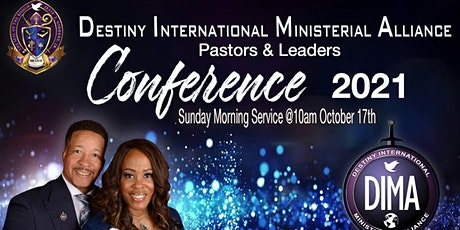D.I.M.A. Conference 2021 (Sunday Morning Service) tickets