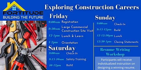 Fortitude's Exploring Construction Careers tickets