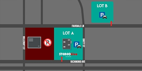 Parking Pass - Stereo Live Houston - 10/9/21 tickets